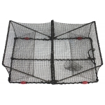 Rectangular Crab Trap black mesh