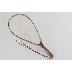 Wooden Rubber Landing Net